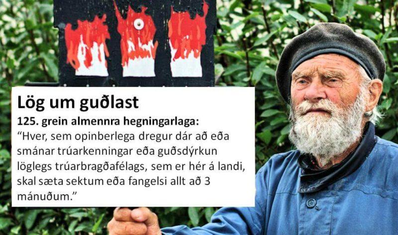 Mótmælandi Íslands