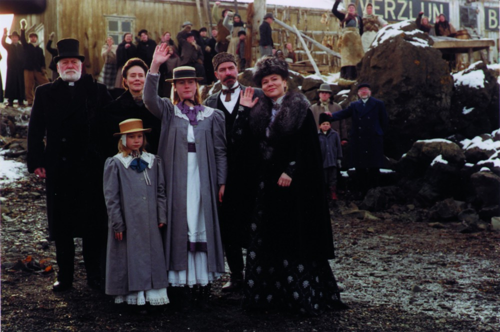 Ungfrúin góða og húsið, Guðný Halldórsdóttir
